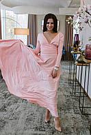 Женское модное длинное платье НВ365