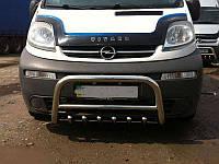Защита переднего бампера (кенгурятник) Renault Trafic 2001-2015