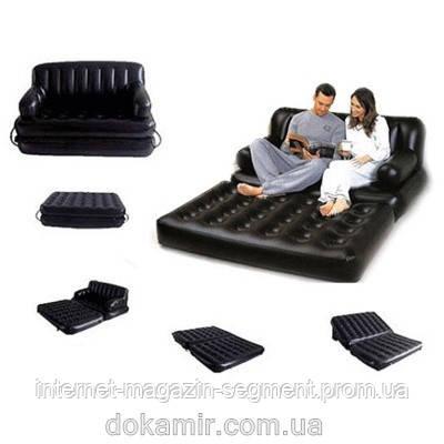 Надувной диван - трансформер 5 в 1 для всей семьи