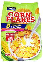 Кукурузные хлопья Crownfield Corn Flakes 500г.
