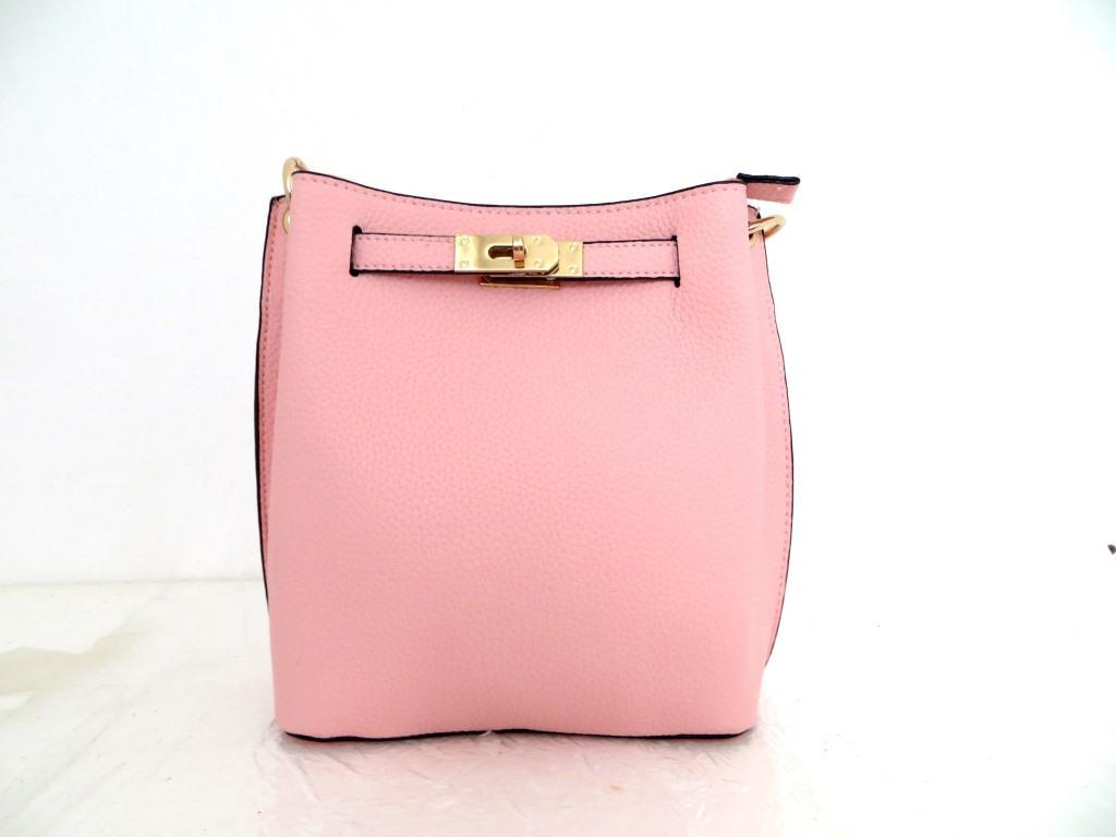 Женская сумка  через плече Эко-кожа. Розовый