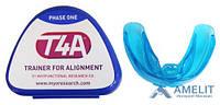 Трейнер ортодонтический T4А (Trainer T4A), мягкий, синий, для взрослых, 1шт.