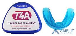 Ортодонтичний Трейнер Т4А (Trainer T4A), м'який, синій, для дорослих, 1шт.