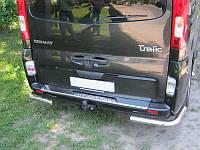 Защита заднего бампер (уголки) Renault Trafic 2001-2015