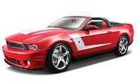 MAISTOАвтомодель (1:18) 2010 Roush 427 Ford Mustang Convertible красный, фото 1