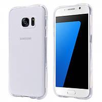 Чехол силиконовый с точками для Samsung Galaxy S7 edge, фото 1