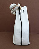 Женская сумка  через плече Эко-кожа. Белая, фото 2