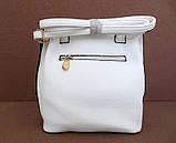 Женская сумка  через плече Эко-кожа. Белая, фото 3