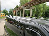 Рейлинги Renault Trafic (с металлическими концевиками)