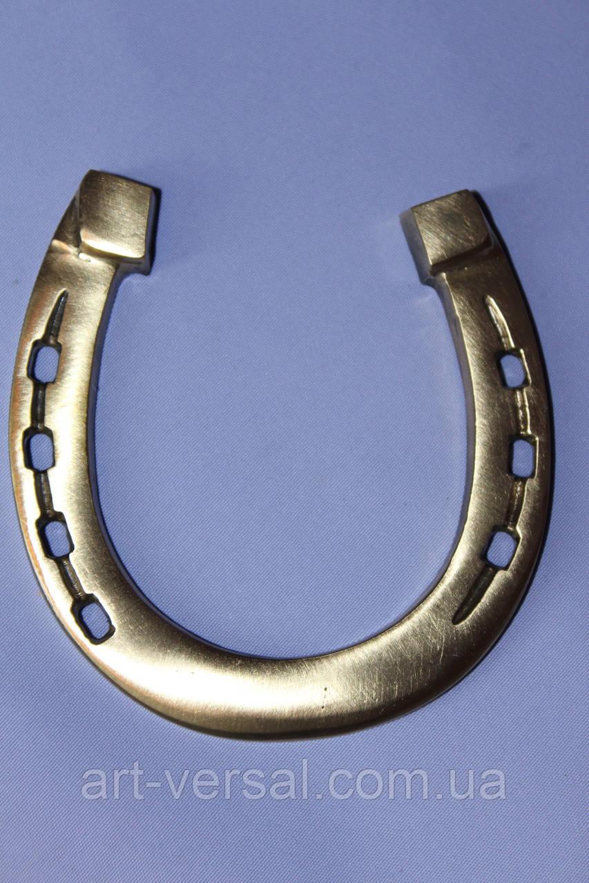 Сувенир подкова из бронзы