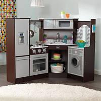 Детская кухня угловая Espresso KidKraft 53365
