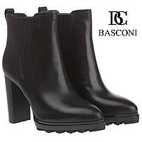 Ботильоны женские Basconi (стильные, классический дизайн, на высоком каблуке, стильные, изысканные, элегантные