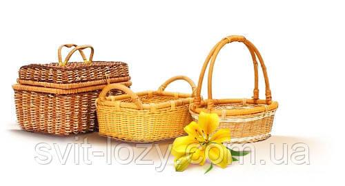 оптовые поставки плетеных корзин