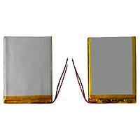 Батарея (АКБ, аккумулятор) для китайских планшетов, универсальная, 3200 mAh, 89х67х4,8 мм