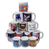 Фотопечать на чашках, чашки с фото и любым изображением