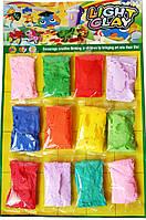 Тесто-пластилин для лепки (12цв./набор) 10г