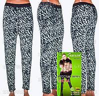 Женские гамаши леопард на меху Nanhai LA995-1-R