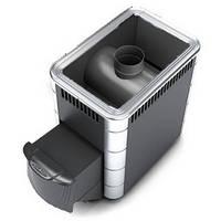 Термофор АНГАРА 18  Антрацит - Дровяная печь для бани (8-18 м. куб., 60 кг камней)