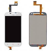 Дисплей (LCD) HTC C520e/ T528t One SV One ST с сенсором белый