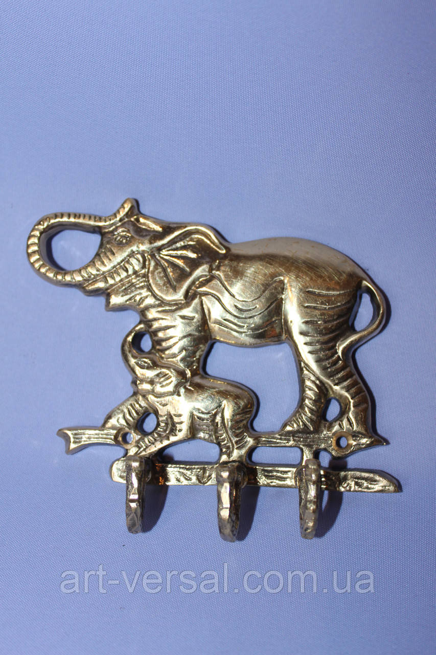 "Ключница ""Слон"" из бронзы"