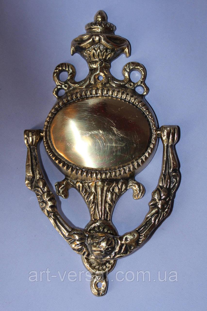 Стучалка-кольцо дверная из бронзы