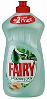 Средство для мытья посуды Fairy Нежные руки(чайное дерево и мята), 500мл