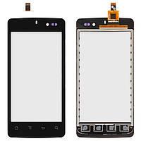 Сенсорный экран (touchscreen) для IconBIT NetTAB Mercury Q4, черный, оригинал