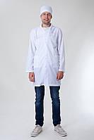 Мужской белый медицинский халат