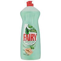 Средство для мытья посуды Fairy Нежные руки(чайное дерево и мята), 1л