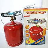 Баллон газовый Rudyy 8л с горелкой