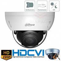 Антивандальная HDCVI видеокамера Dahua DH-HAC-HDBW1100R-VF
