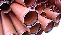 Труба канализационная ПВХ, D = 160x3,2 мм L = 0,5 м, InstalPlast SN2