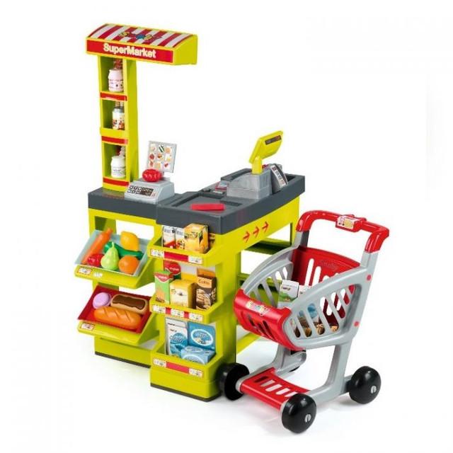 Детские игровые супермаркеты, магазины, кассы