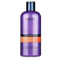 """Кондиционер для выравнивания волос """"Indola"""" Keratin Straight Conditioner (250ml)"""