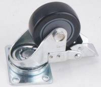 Emiter-S HYC-77 колесо с тормозом для корпуса, поворотное
