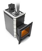 Термофор ГЕЙЗЕР 18 Антрацит VITRA - Дровяная печь для бани (8-18 м. куб., 50 кг камней)