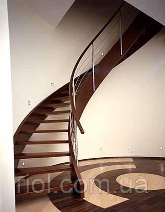 лестница деревяная