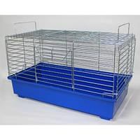 Клетка для грызунов Кролик  (570х300х335) цинк  разные цвета, фото 1