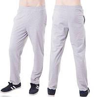 Светло серые спортивные штаны мужские трикотажные прямые Украина 5f7a83e4cee