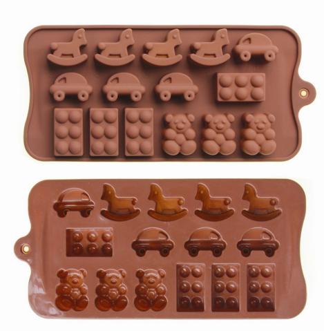 Форма силиконовая для конфет Игрушки Детские