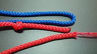 Веревка 3 мм. вязаная декоративная., фото 1
