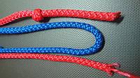 Веревка 5 мм. вязаная декоративная., фото 1
