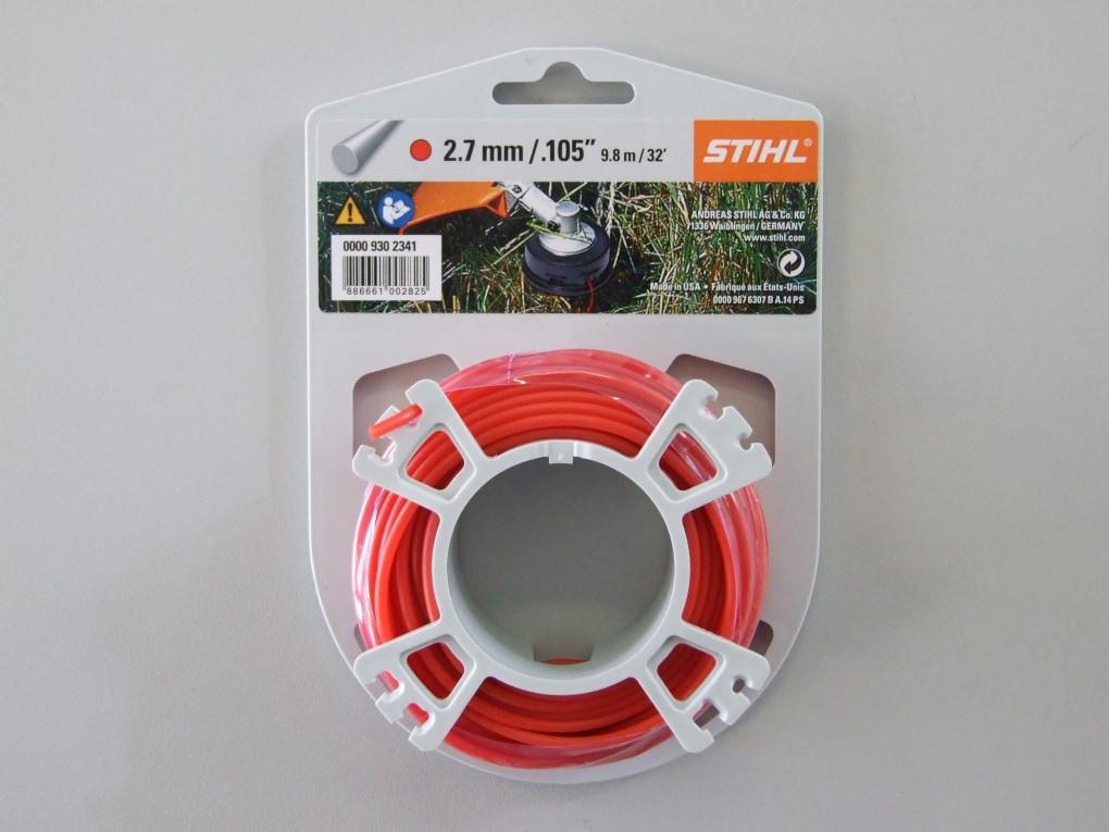 Косильная струна STIHL Ø2,7 мм х 9,8 м круглая