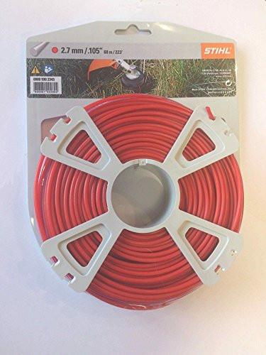 Косильная струна STIHL Ø2,7 мм х 68 м круглая
