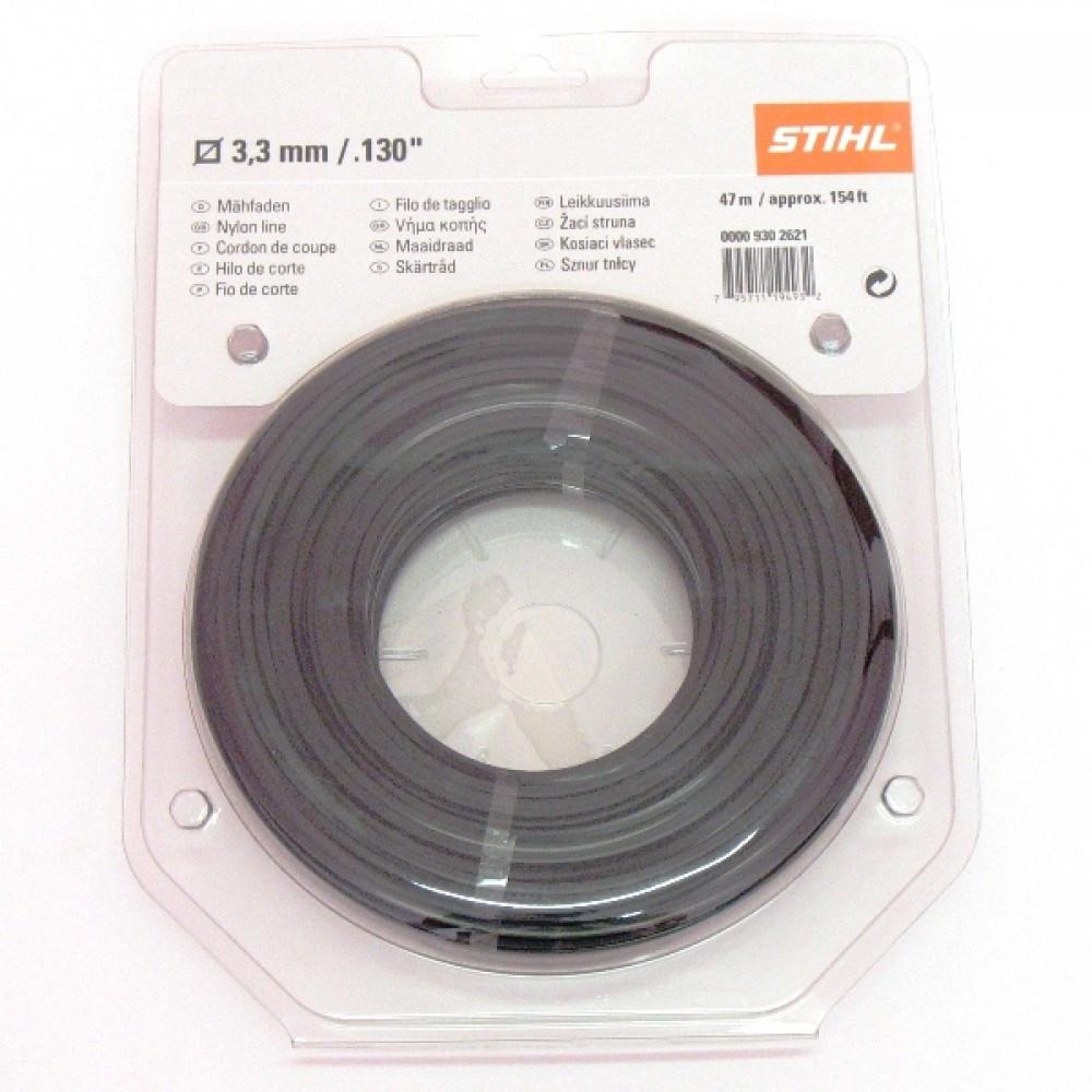 Косильная струна STIHL Ø3,3 мм х 47 м круглая