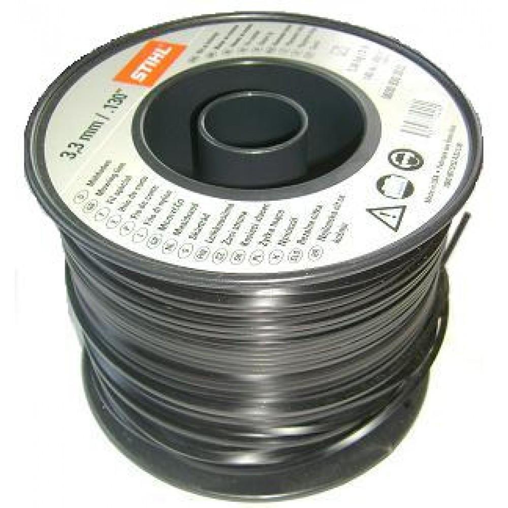 Косильная струна STIHL Ø3,3 мм x 591 м круглая