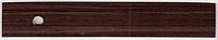 Кромка Ясень сицилия темный PVC