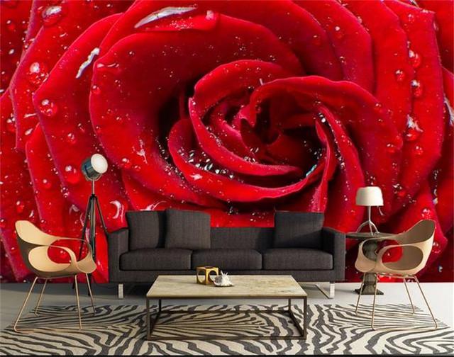 Фотообои с розами