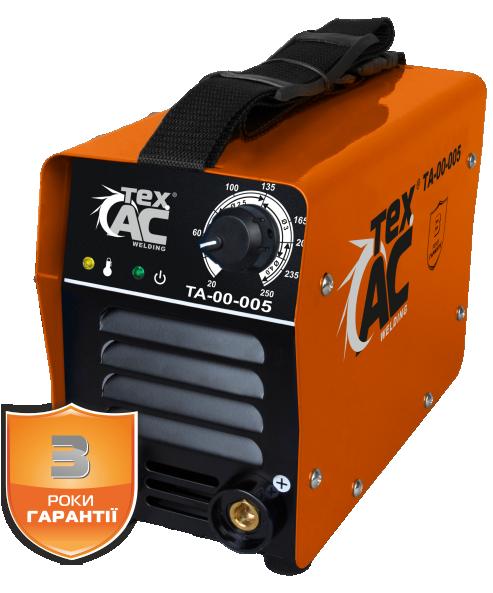 Сварочный инвертор ТехАС ММА-250 ТА-00-005