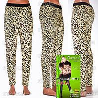 Женские гамаши леопард на меху Nanhai LA995-5-R